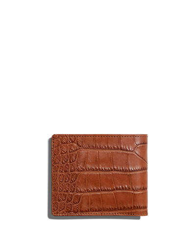 Alligator Classic Bifold Wallet
