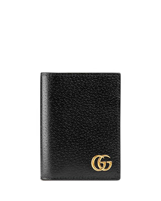 gucci keychain wallet. gg marmont leather fold-over card case gucci keychain wallet