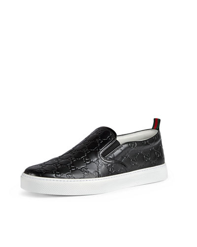 Dublin Signature Leather Slip-On Sneaker