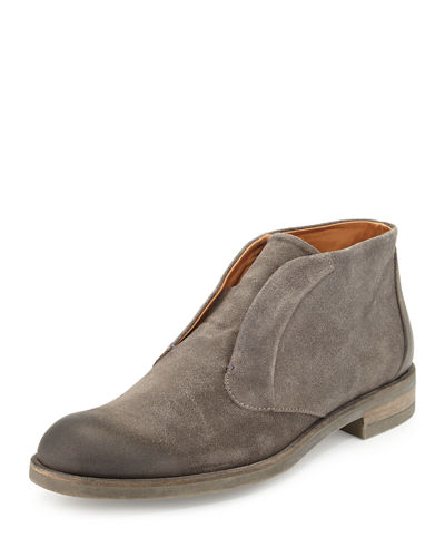 Jacob Laceless Blind Suede Chukka Boot