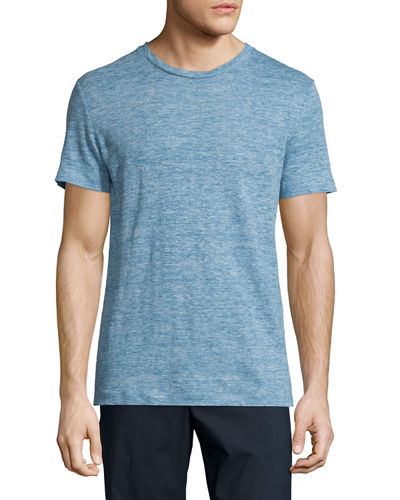 Koree Linen Melange Short-Sleeve T-Shirt