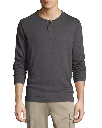 Gaskell Long-Sleeve Henley Shirt