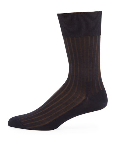 Falke Shadow-Stripe Knit Socks