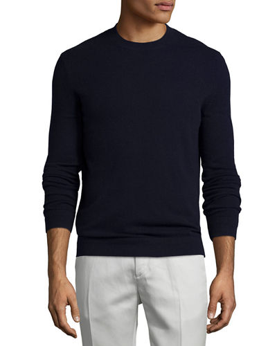 Donners Cashmere Crewneck Sweater, Eclipse