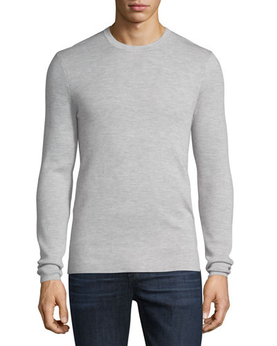 Interlock Long-Sleeve Cashmere Sweater