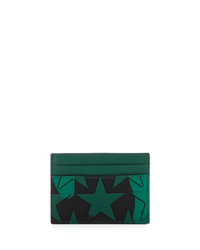 Camustars Canvas & Leather Card Case