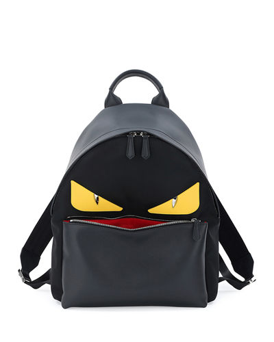 Fendi Backpack With Eyes