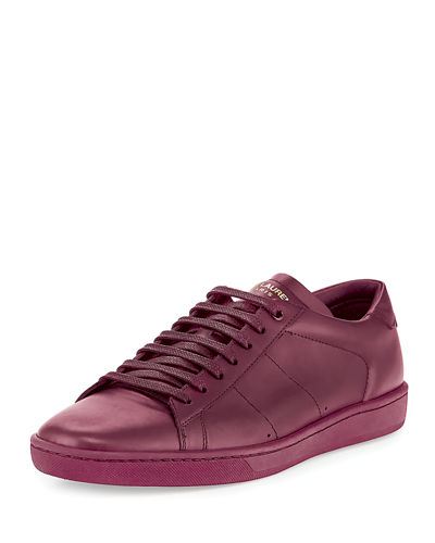 SL/01 Leather Low-Top Sneaker