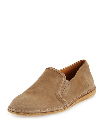 Nigel Suede Slip-On Shoe