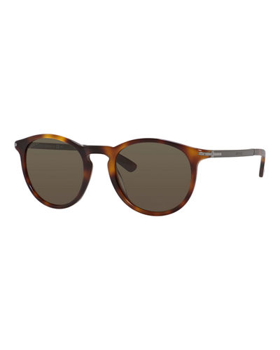 Acetate Round Sunglasses