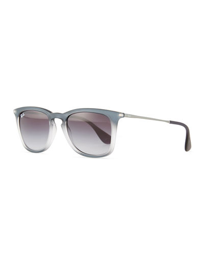 Ray-Ban RB4221 Highstreet Gradient Square Plastic Sunglasses