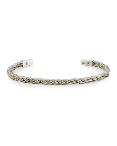 Men's 4mm Titanium Chain Cuff Bracelet