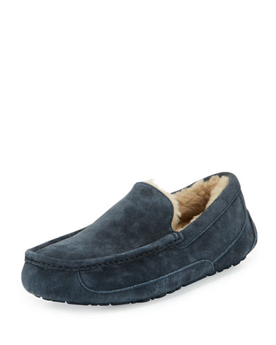 Men's Ascot Suede Slipper