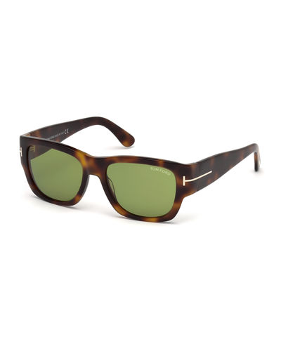 Stephen Acetate Wrap Sunglasses