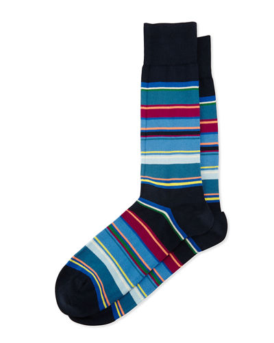 Variegated Striped Socks