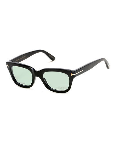tom fordtom n5 private collection real horn thick square optical frames