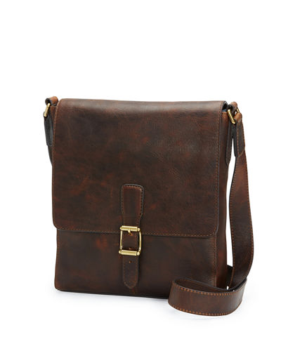 Frye Logan Small Leather Messenger Bag