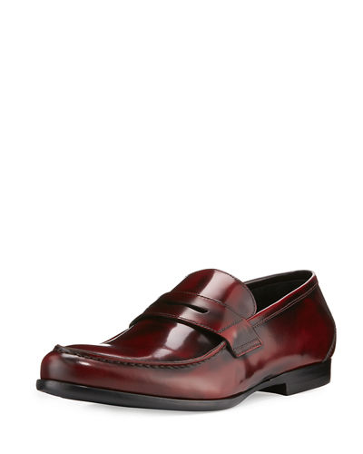 Harrys of London James Gloss Calf Leather Penny