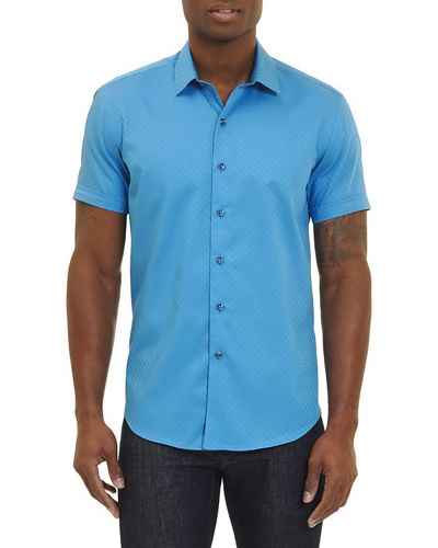 Vertigo Short-Sleeve Sport Shirt