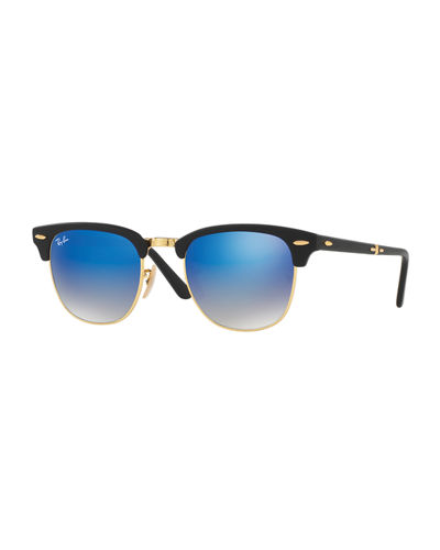 Ray-Ban Clubmaster® Flash Folding Sunglasses