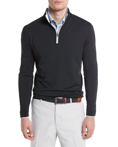 Perth Quarter-Zip Sweater