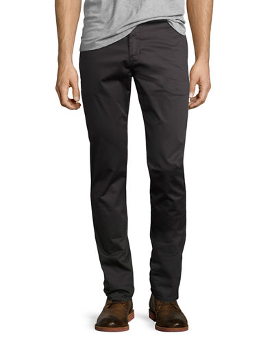 Brooks Slim Sateen Trousers