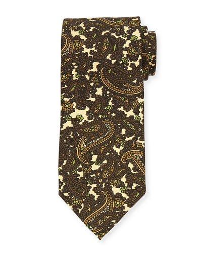 TOM FORD Paisley-Print Silk Tie