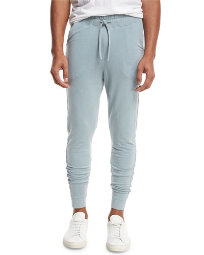 Fitted Jersey Tack Pants