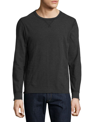 Dylan Long-Sleeve Crewneck T-Shirt