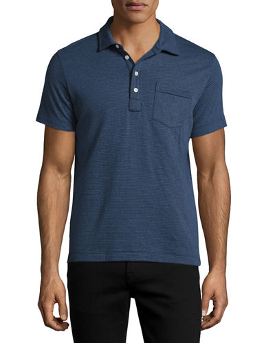 Patterson Striped Polo Shirt