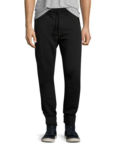 Zip-Pocket Jogger Pants