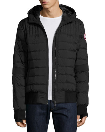 Canada Goose Cabri Hooded Down Bomber Jacket