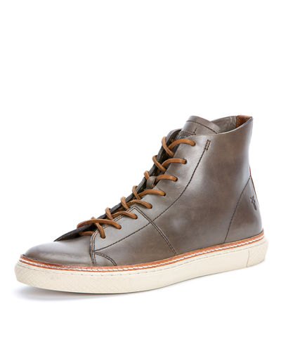 Men's Gates Leather High-Top Sneaker