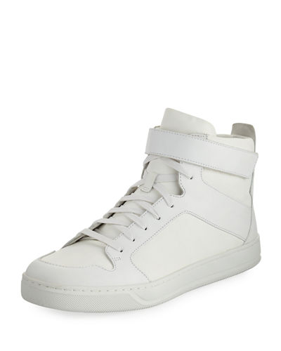 Athens Suede High-Top Sneaker