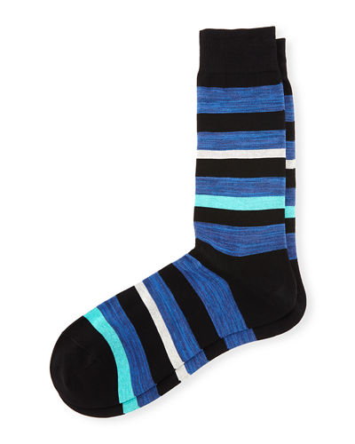 Salton Striped Dress Socks