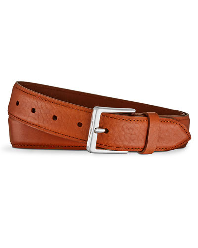 Bombe Leather Tab Belt