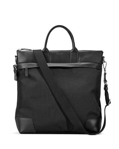 Shinola Men's Medium Leather & Nylon Travel Tote
