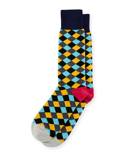 Diamond Tile Socks