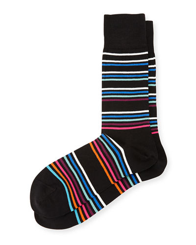 Mondo Multicolor-Stripe Socks