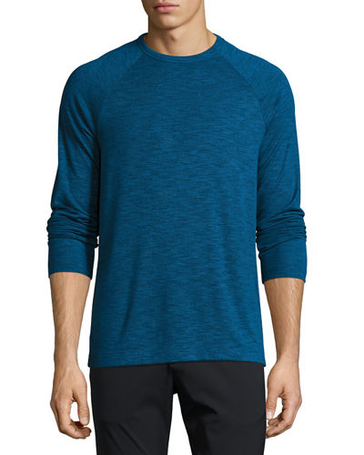 Dustyn L Anemone Long-Sleeve Raglan T-Shirt