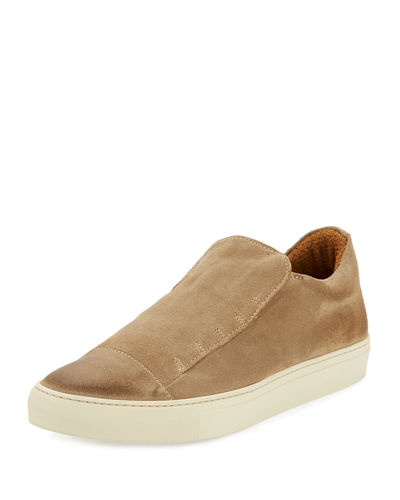 315 Reed Laceless Suede Slip-On Sneaker