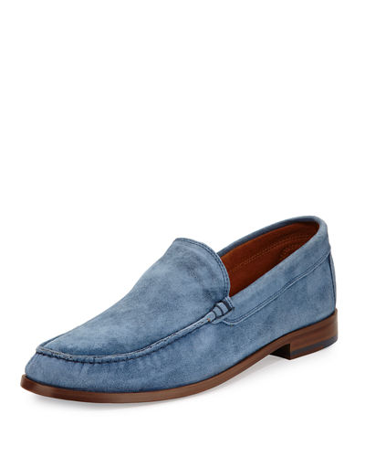 Nate Men's Suede Slip-On Loafer