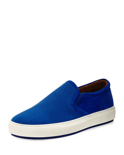 Men's Caidan Beaded Suede Slip-On Sneaker