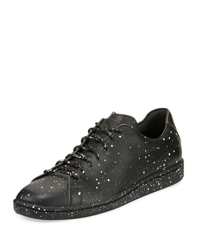 X DP Match Men's Splatter Low-Top Sneaker