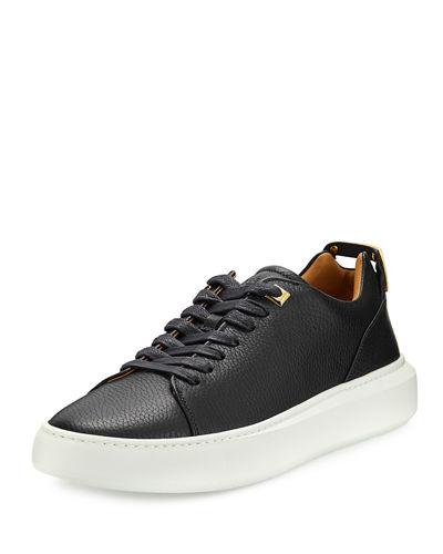 Buscemi Men's 50mm Leather Low-Top Sneaker