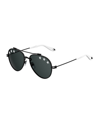 Men's GV 7057 Star Aviator Sunglasses