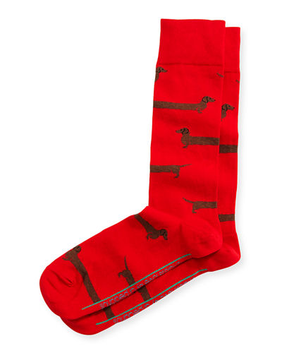 Endless Love Dachshund Socks