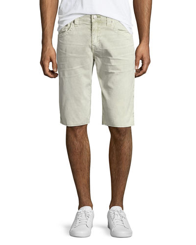Ricky Flap-Pocket Corduroy Shorts