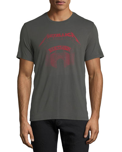 Metallica Sanitarium Graphic T-Shirt