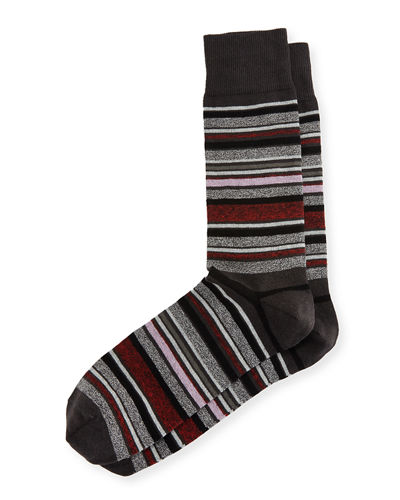 Jaspe-Stripe Socks